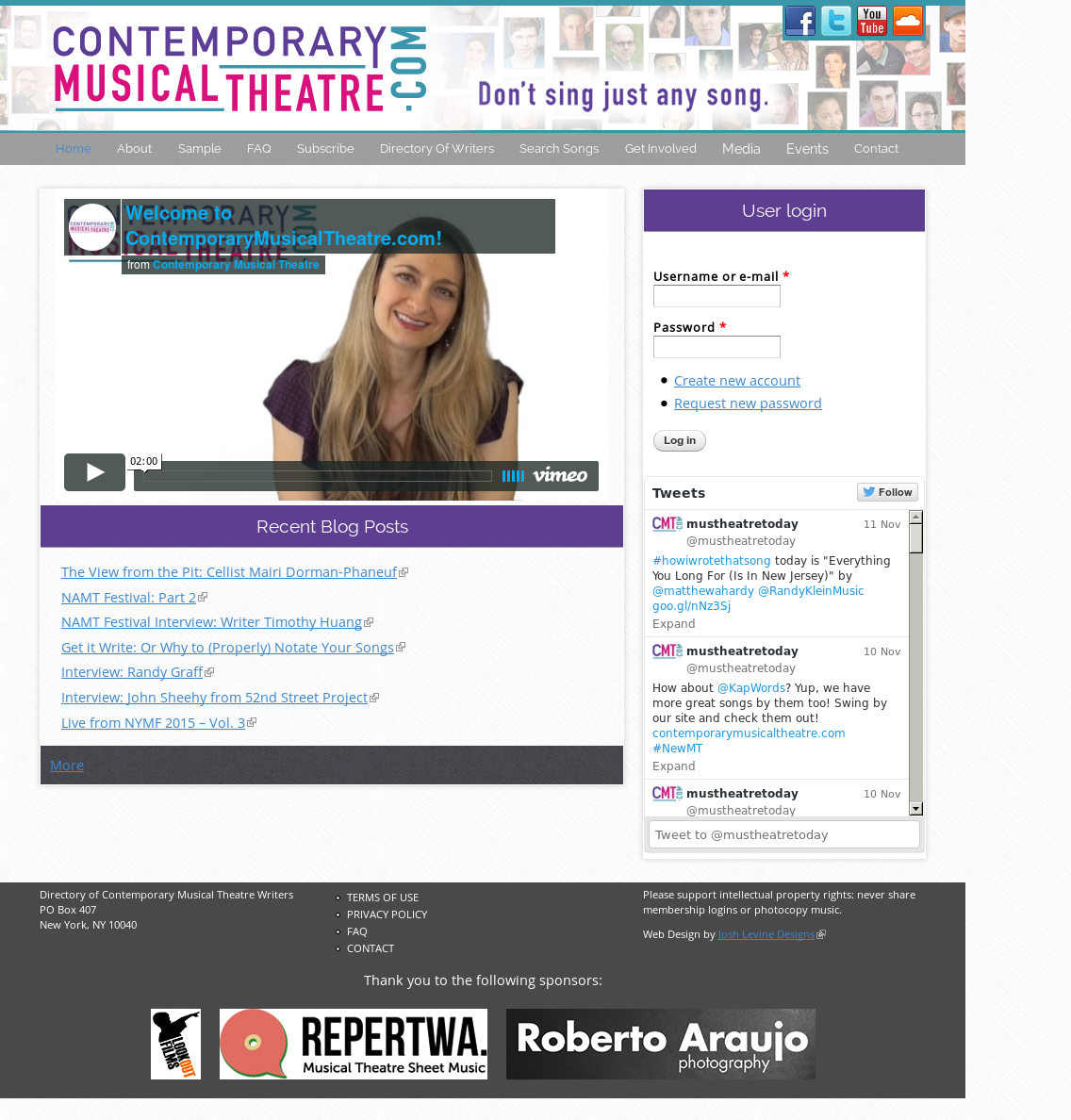Contemporary Musical Theatre Competitors, Revenue and