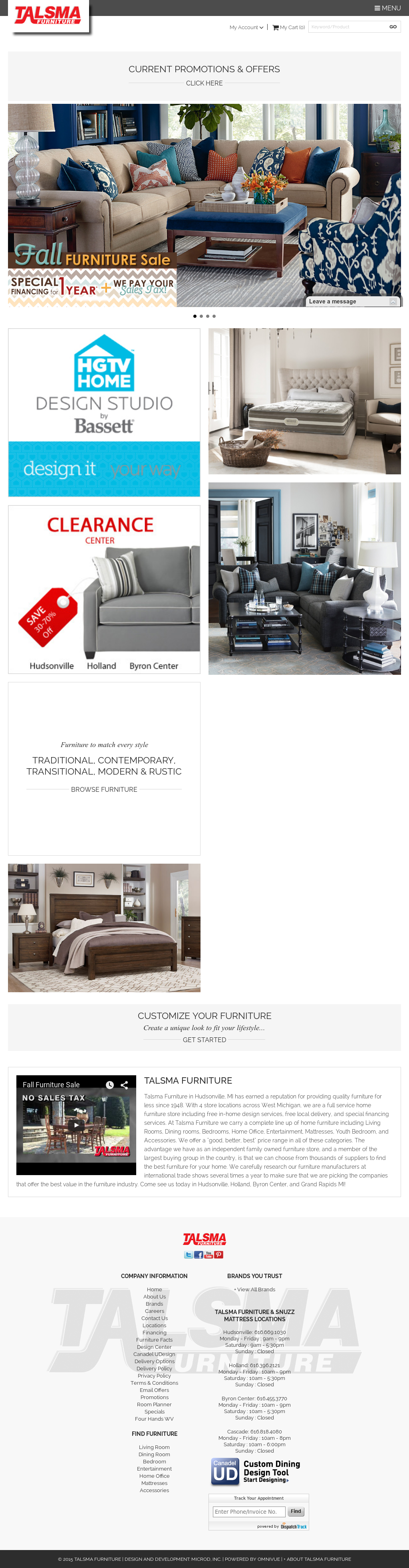 Talsma Furniture Competitors Revenue And Employees Owler Company