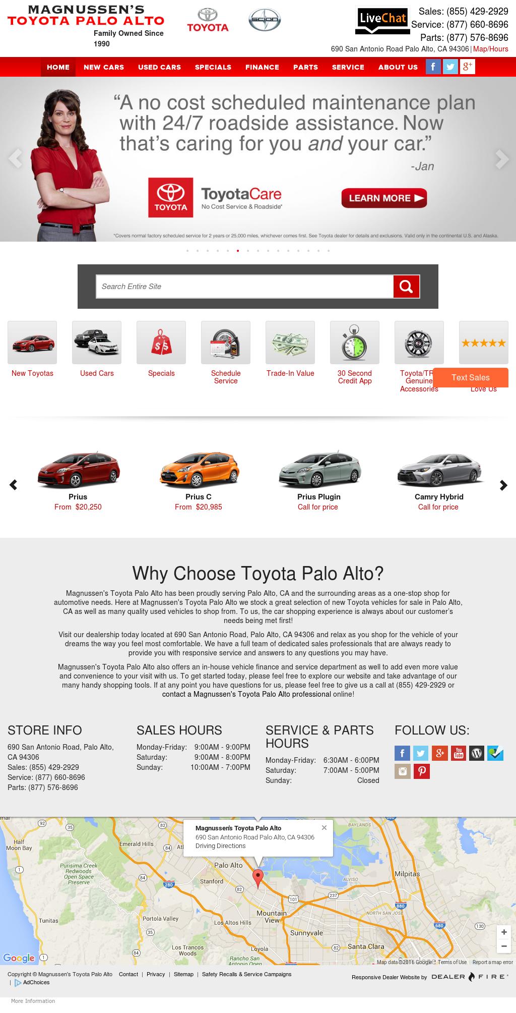 Toyota Of Palo Alto Competitors, Revenue And Employees   Owler Company  Profile