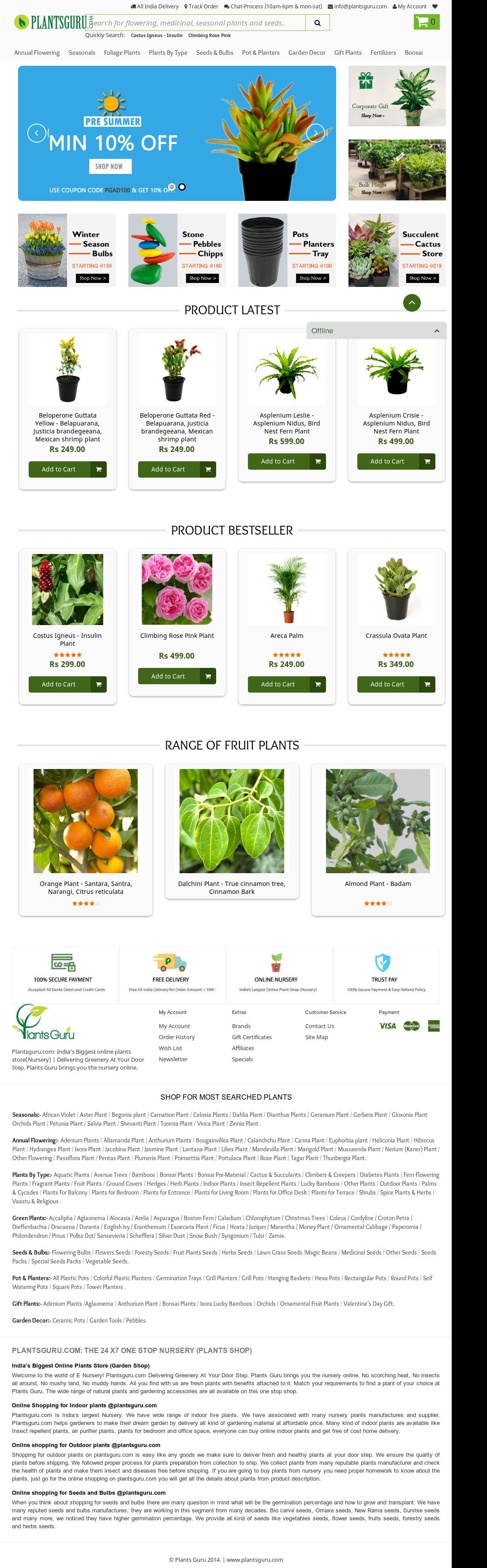 Plants Guru Competitors, Revenue and Employees - Owler Company Profile