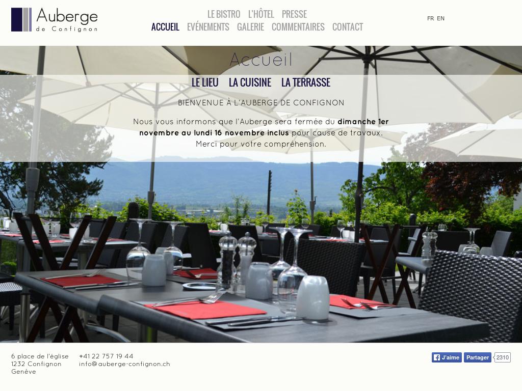 Auberge De Confignon Competitors Revenue And Employees