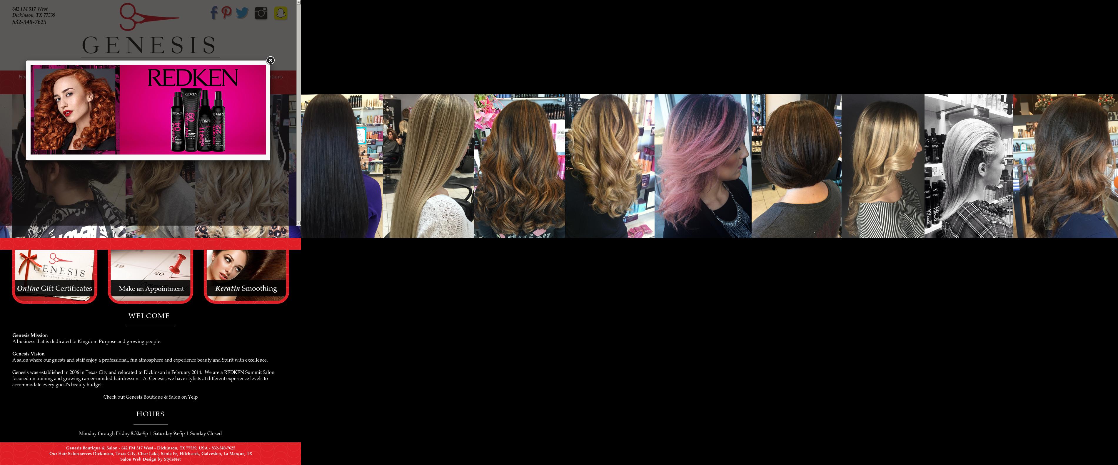 Genesis Boutique And Salon Competitors, Revenue and