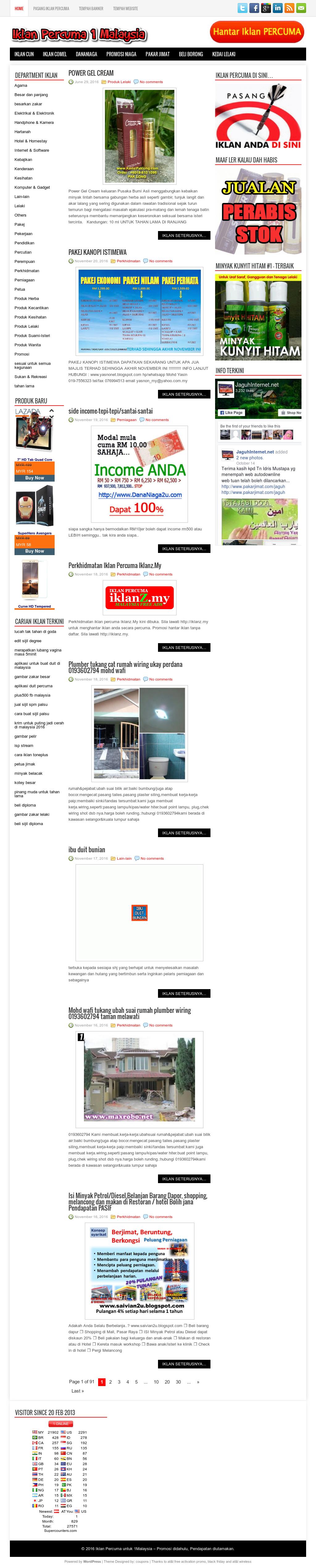 Iklanpercuma 1malaysia Competitors Revenue And Employees Owler Wiring Lampu Rumah Company Profile