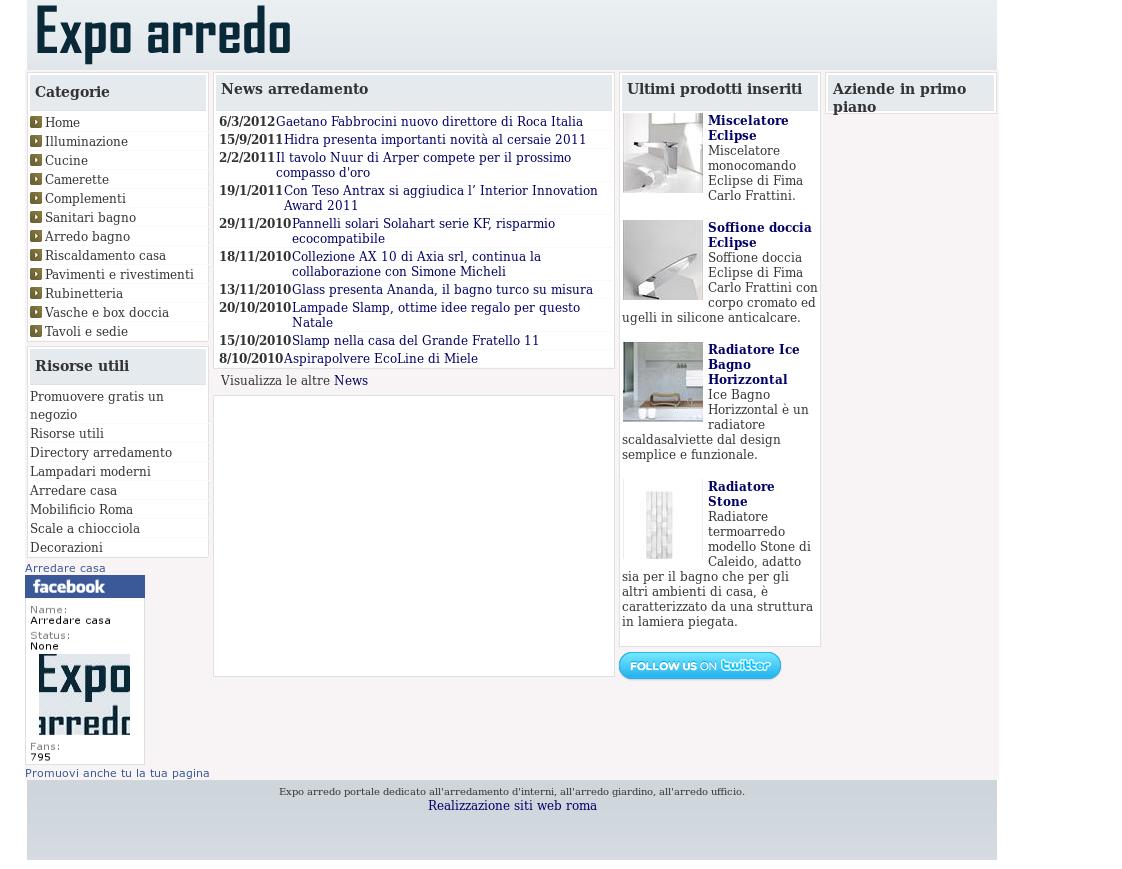 Arredo Bagno Expo Roma.Arredare Casa Competitors Revenue And Employees Owler Company
