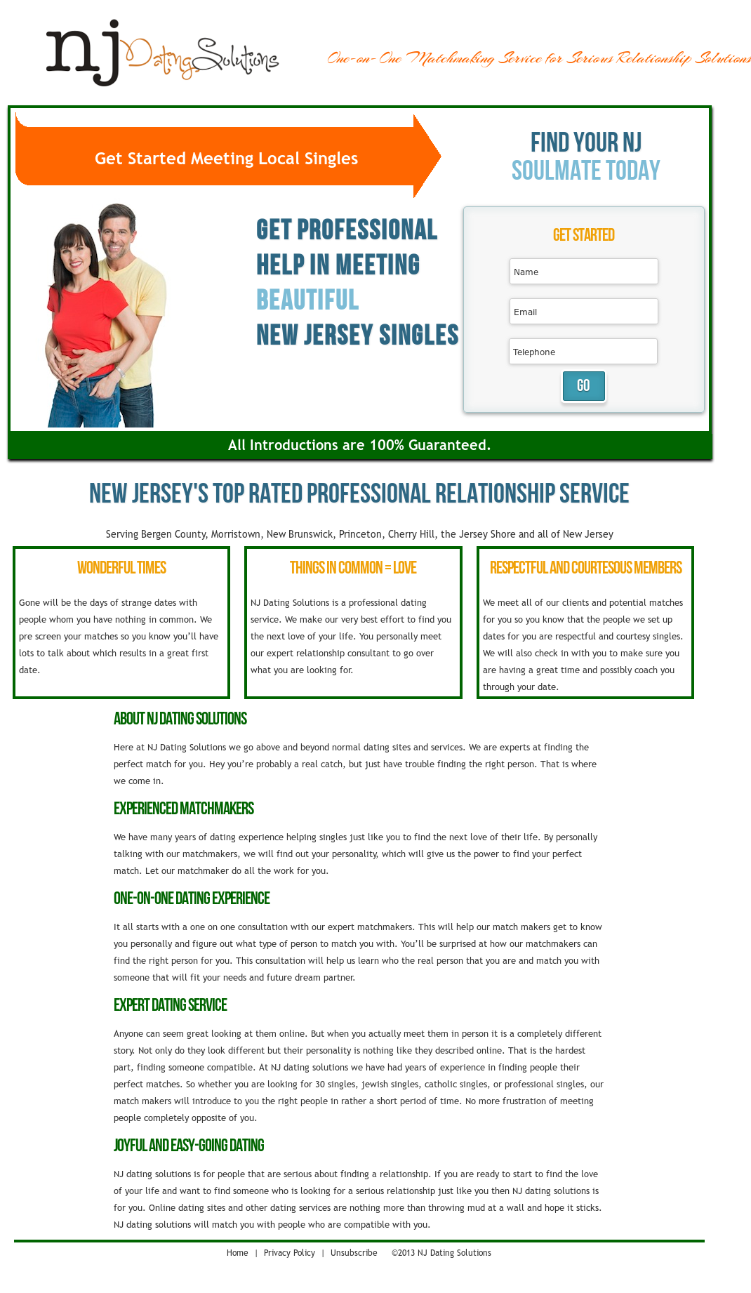 New jerseys matchmaker is a traditional matchmaking service designed for.