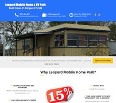 Leopard Mobile Home Park Website History