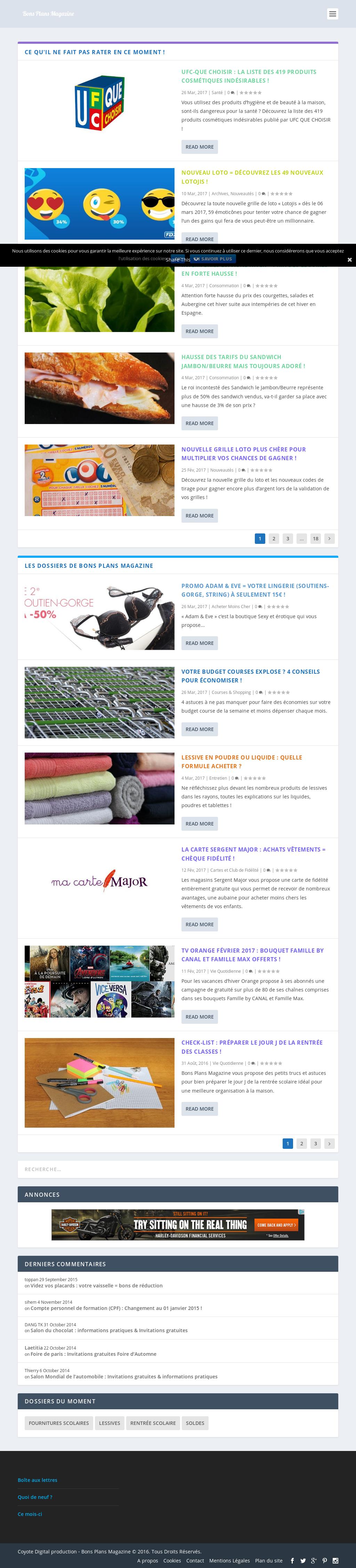 Astuces Pour Faire Des Économies Sur Les Courses bons plans magazine competitors, revenue and employees