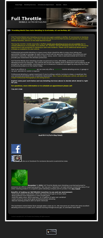 Full Throttle Mobile Auto Detailing Competitors Revenue And
