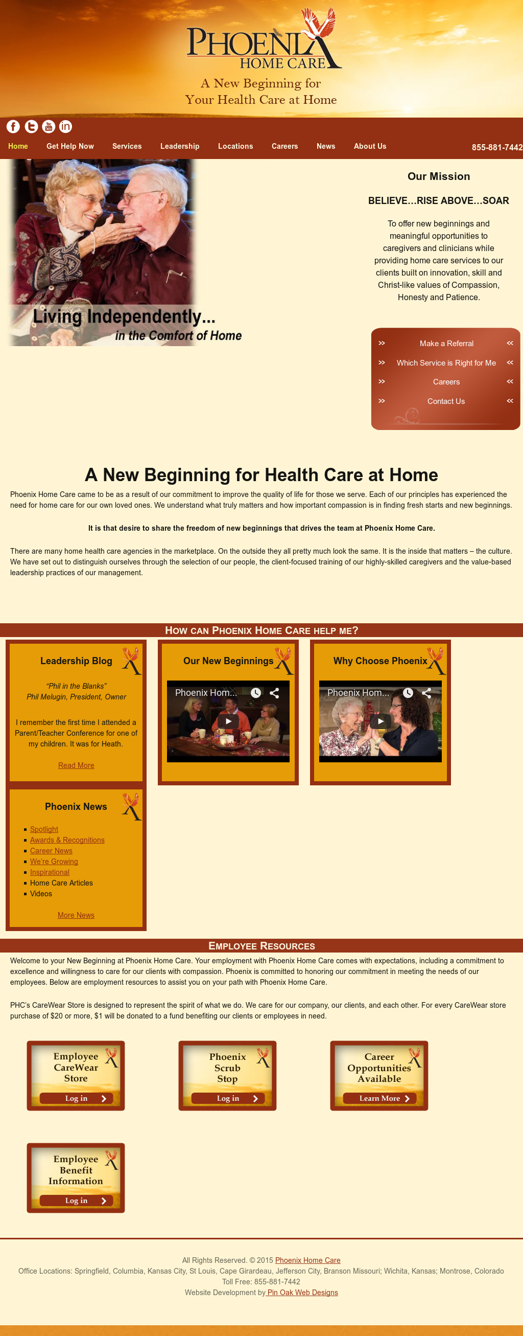 Phoenix Home Health Care Competitors, Revenue and Employees