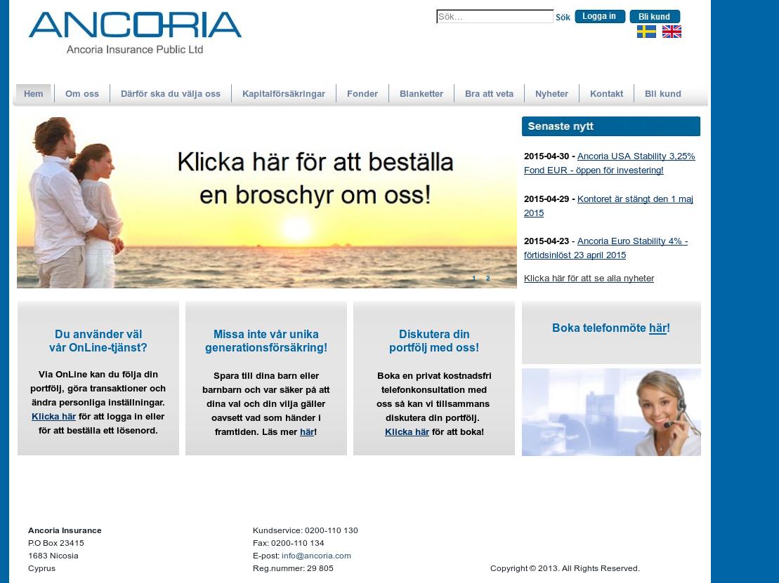 Ancoria online dating