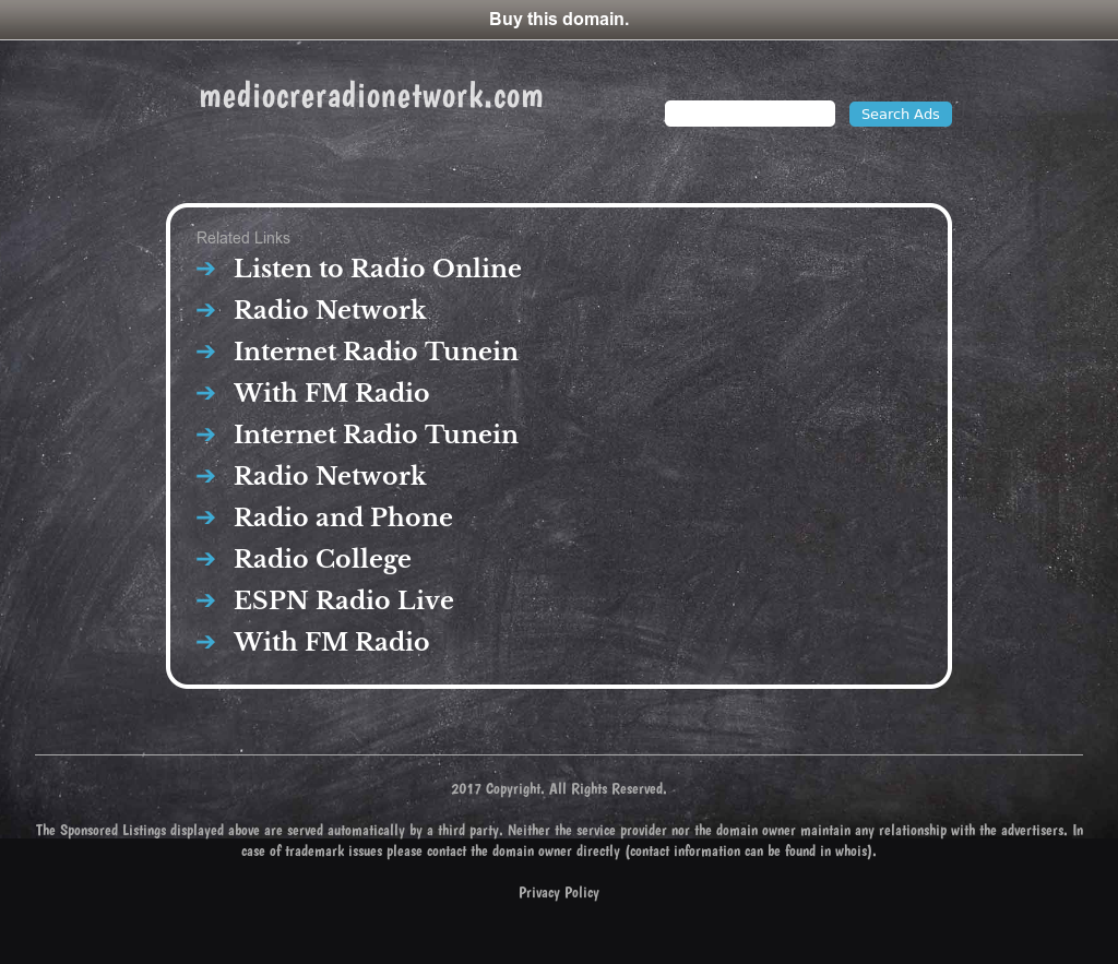 Mediocre Radio Network Competitors, Revenue and Employees - Owler