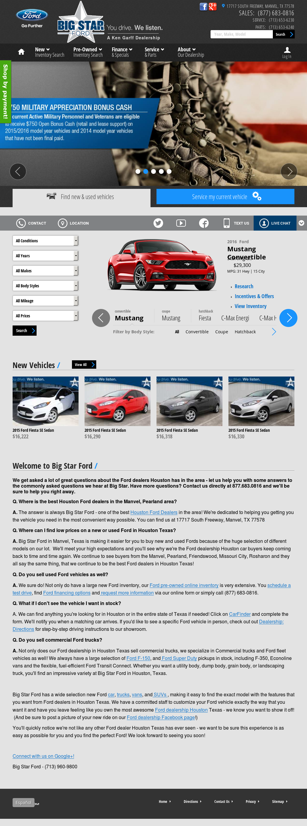 Ford Dealership Houston >> Big Star Ford Competitors Revenue And Employees Owler