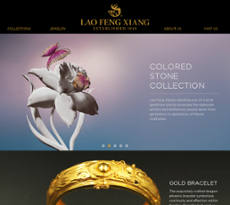 lao feng xiang lfx jewelry competitors revenue and