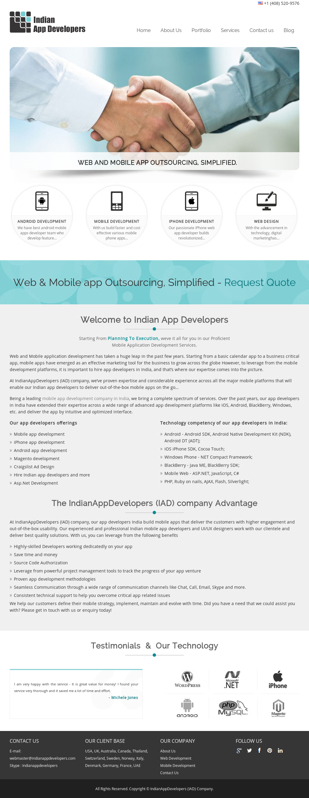 Indian App Developers Competitors, Revenue and Employees