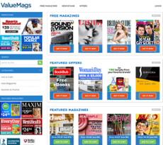ValueMags is a marketing agency for magazine publishers. We build and execute innovative programs that help magazine publishers sell more. ValueMags has created the premiere site for ordering and renewing magazine subscriptions online.. Check our ValueMags' newest YouTube video!