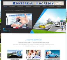Montereau Location website history