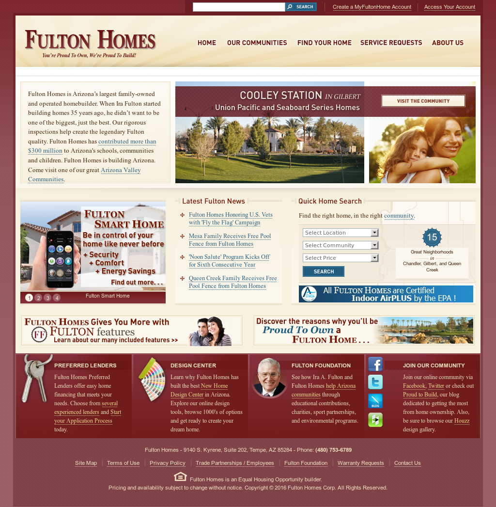 Fulton Homes Competitors, Revenue And Employees   Owler Company Profile
