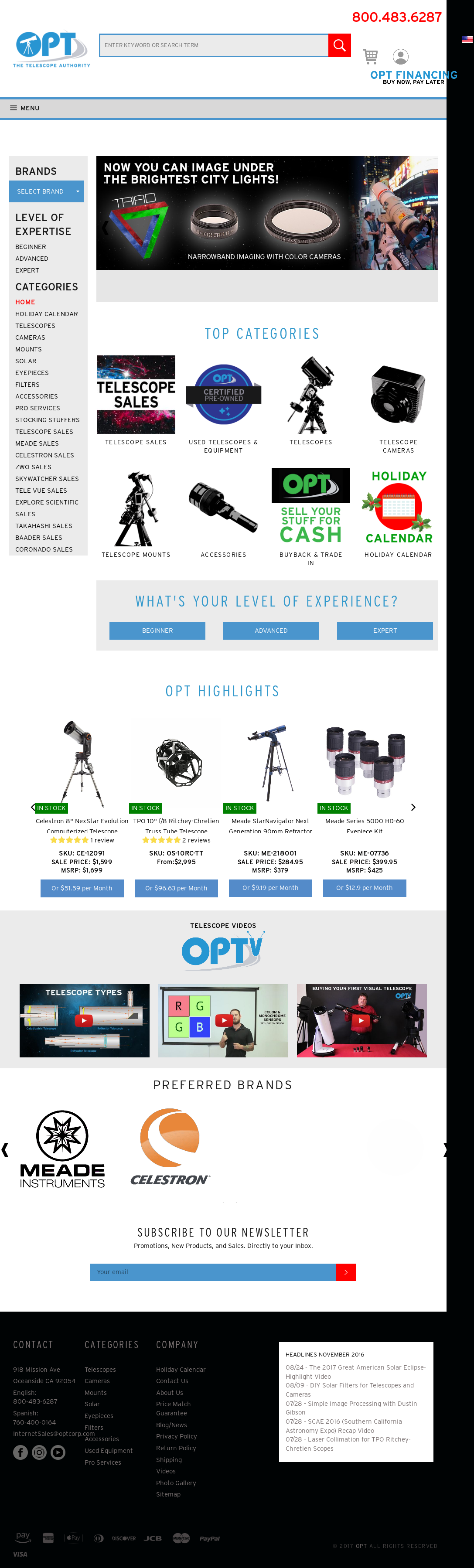 Opt Telescopes Competitors, Revenue and Employees - Owler Company