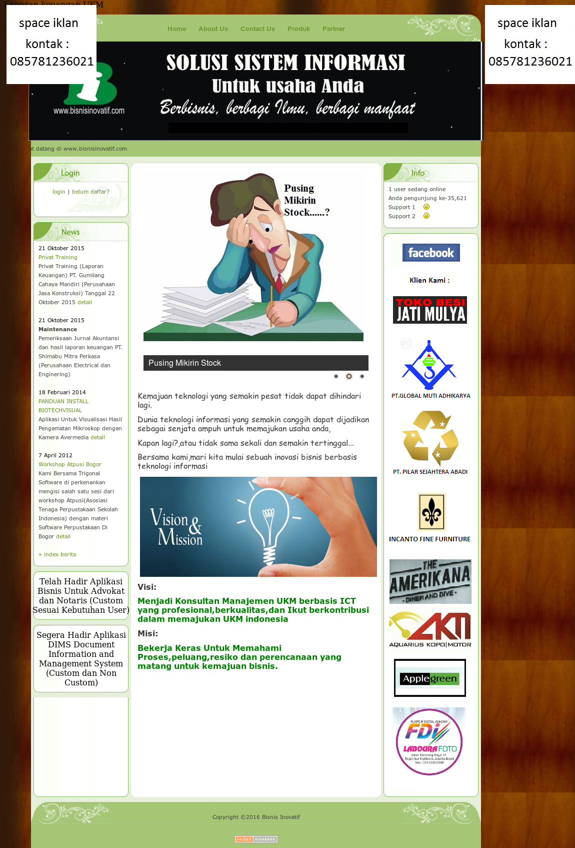 Bisnis Inovatif Solution S Competitors Revenue Number Of Employees Funding Acquisitions News Owler Company Profile