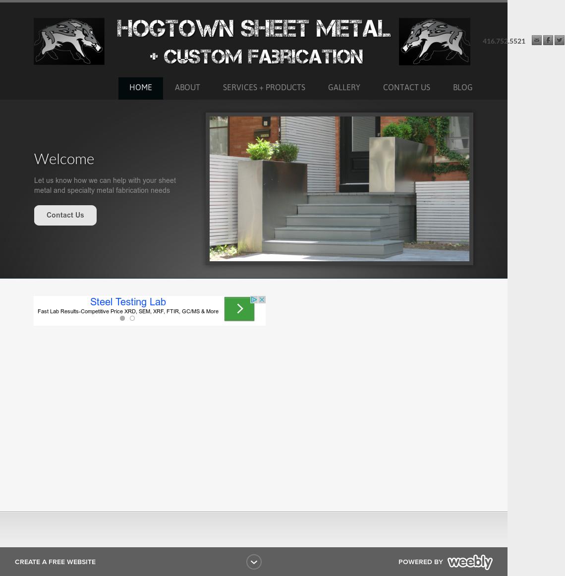 Hogtown Sheet Metal + Custom Fabrication Competitors, Revenue and
