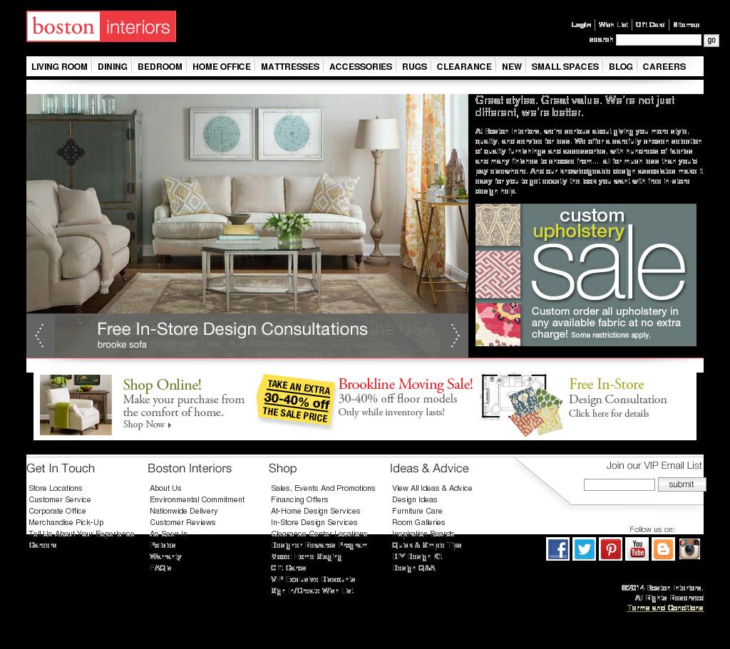 Boston Interiors Competitors, Revenue And Employees   Owler Company Profile