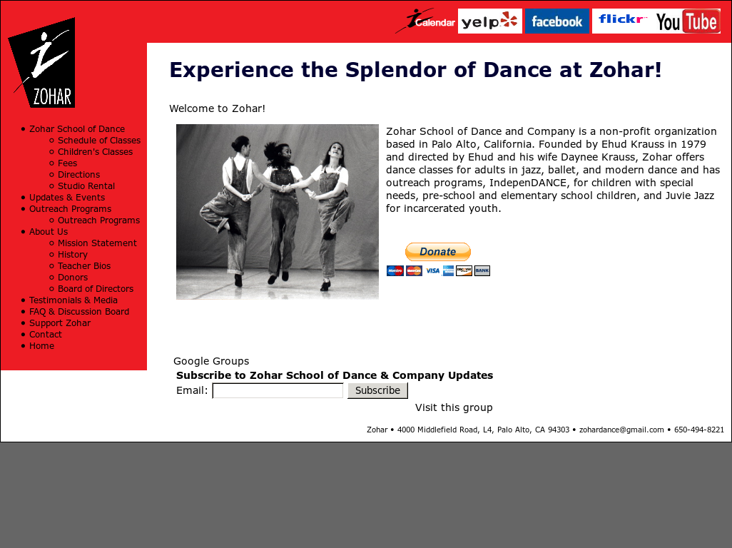 Zohar Dance Competitors, Revenue and Employees - Owler Company Profile