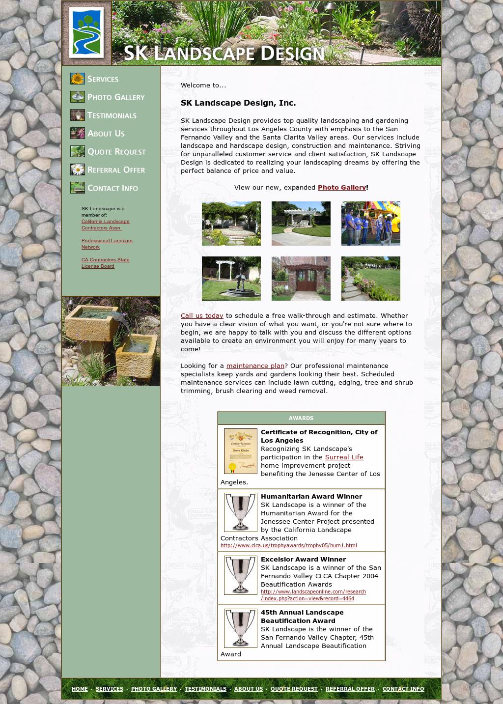 Sk Landscape Design Competitors Revenue And Employees Owler
