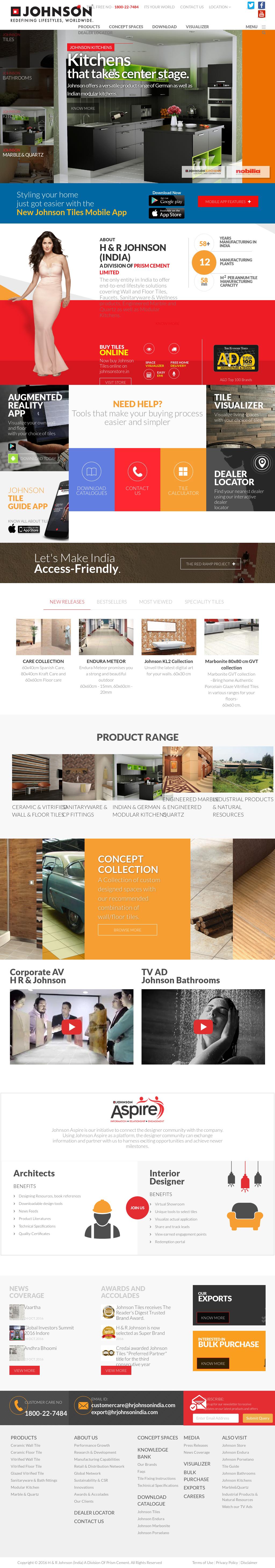 Owler Reports Press Release Johnson Neo Digital Ceramic Tiles Market In India 2015 2019