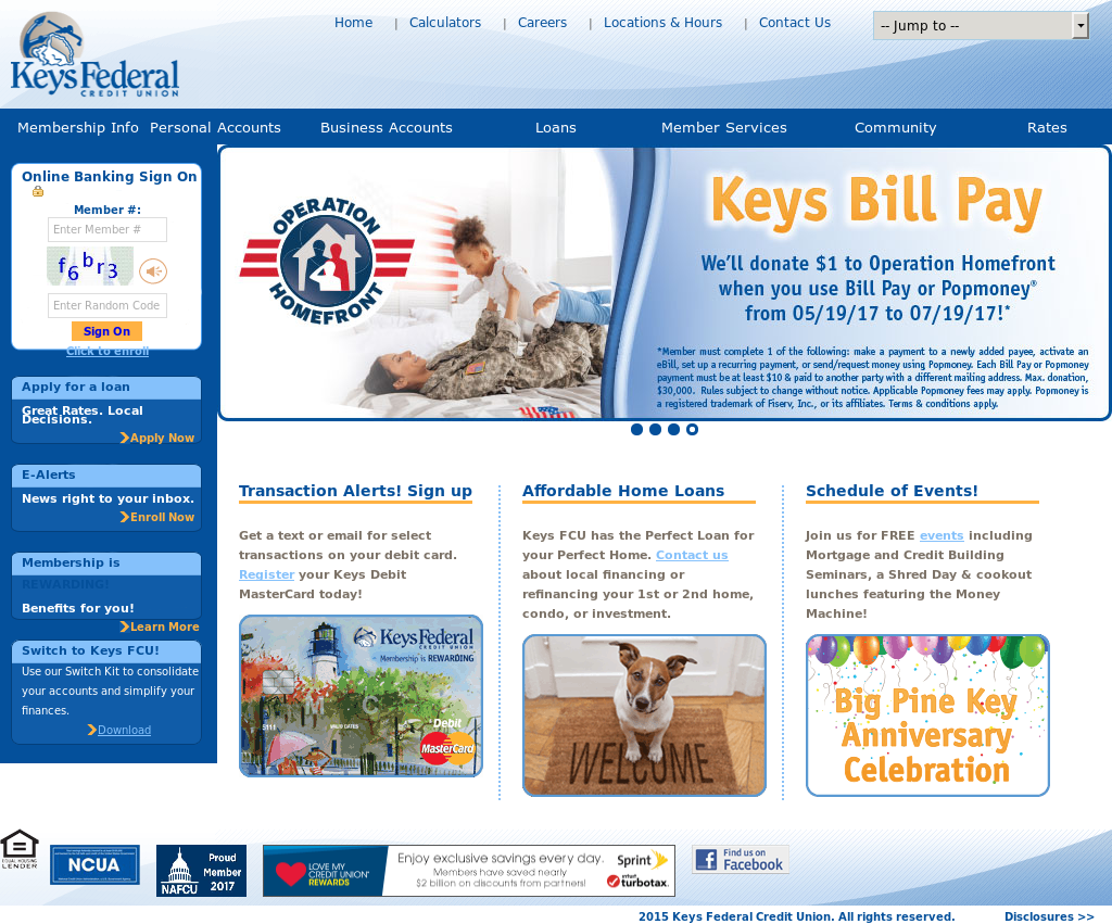 Keys Federal Credit Union Competitors Revenue And Employees Owler