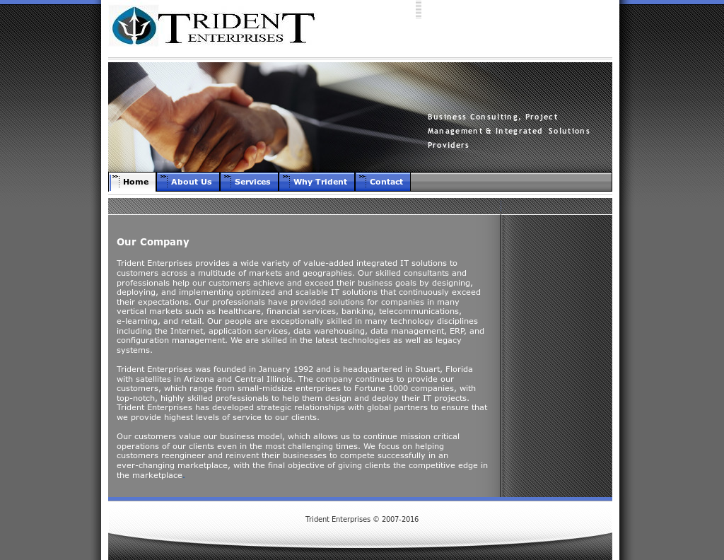 Trident Enterprise Competitors, Revenue and Employees