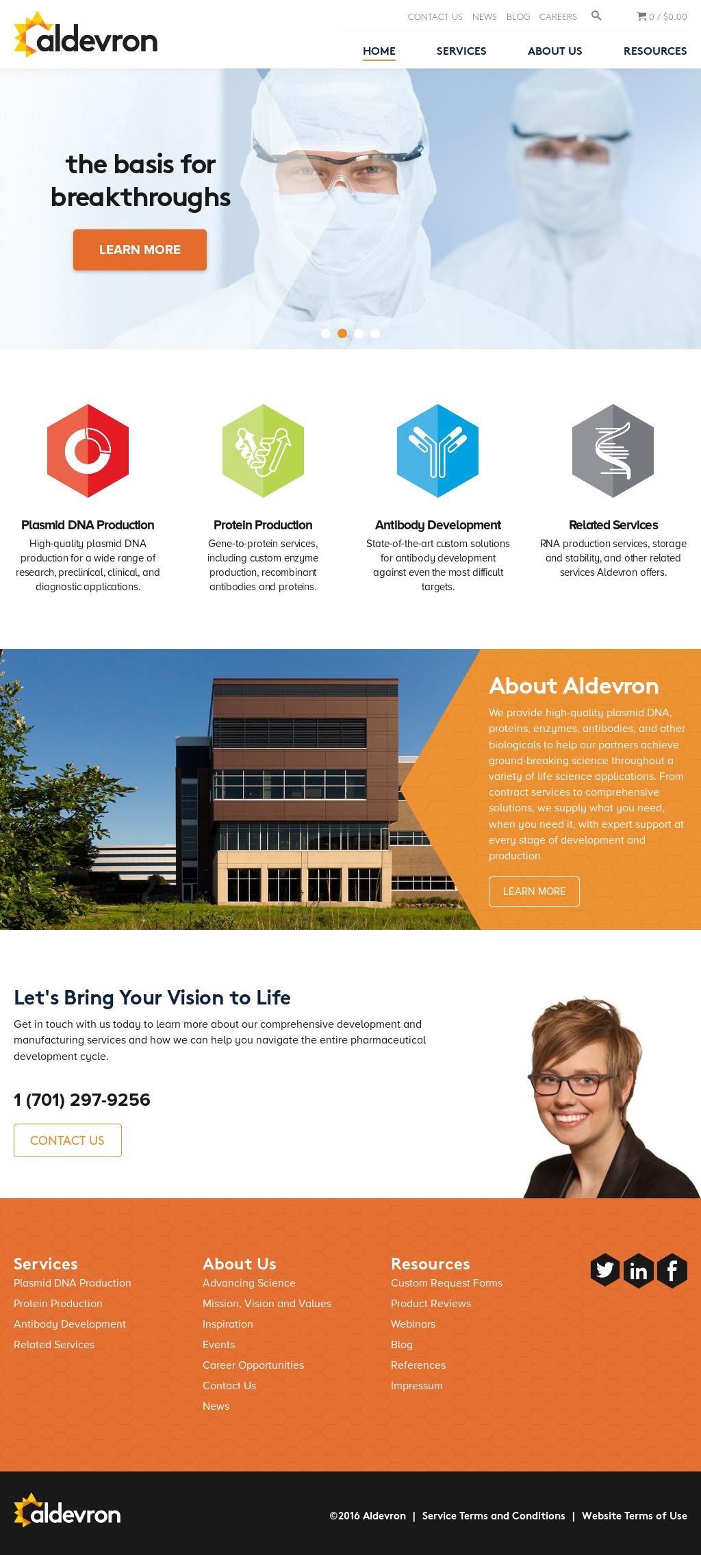 Aldevron Competitors, Revenue and Employees - Owler Company