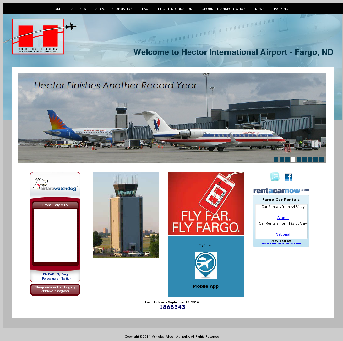 Hector International Airport Competitors Revenue And Employees