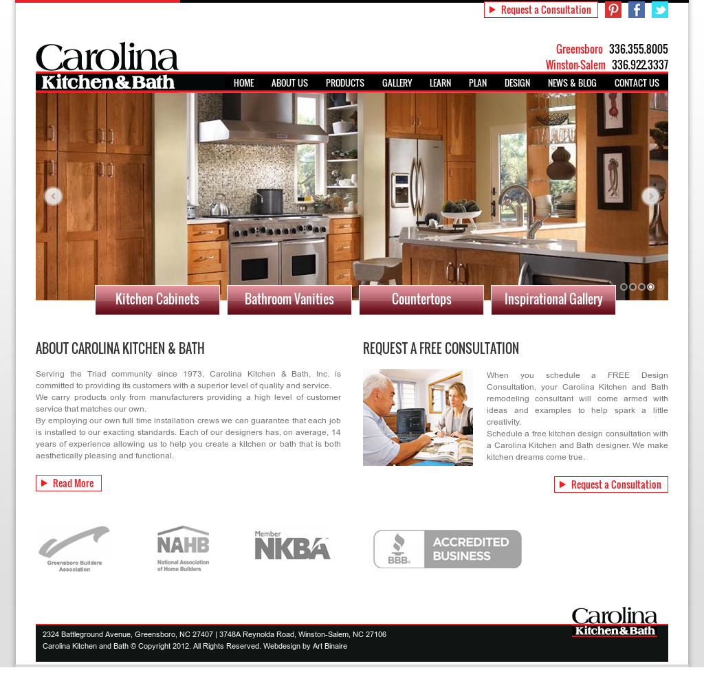 Carolina Kitchen And Bath Competitors, Revenue and Employees ...