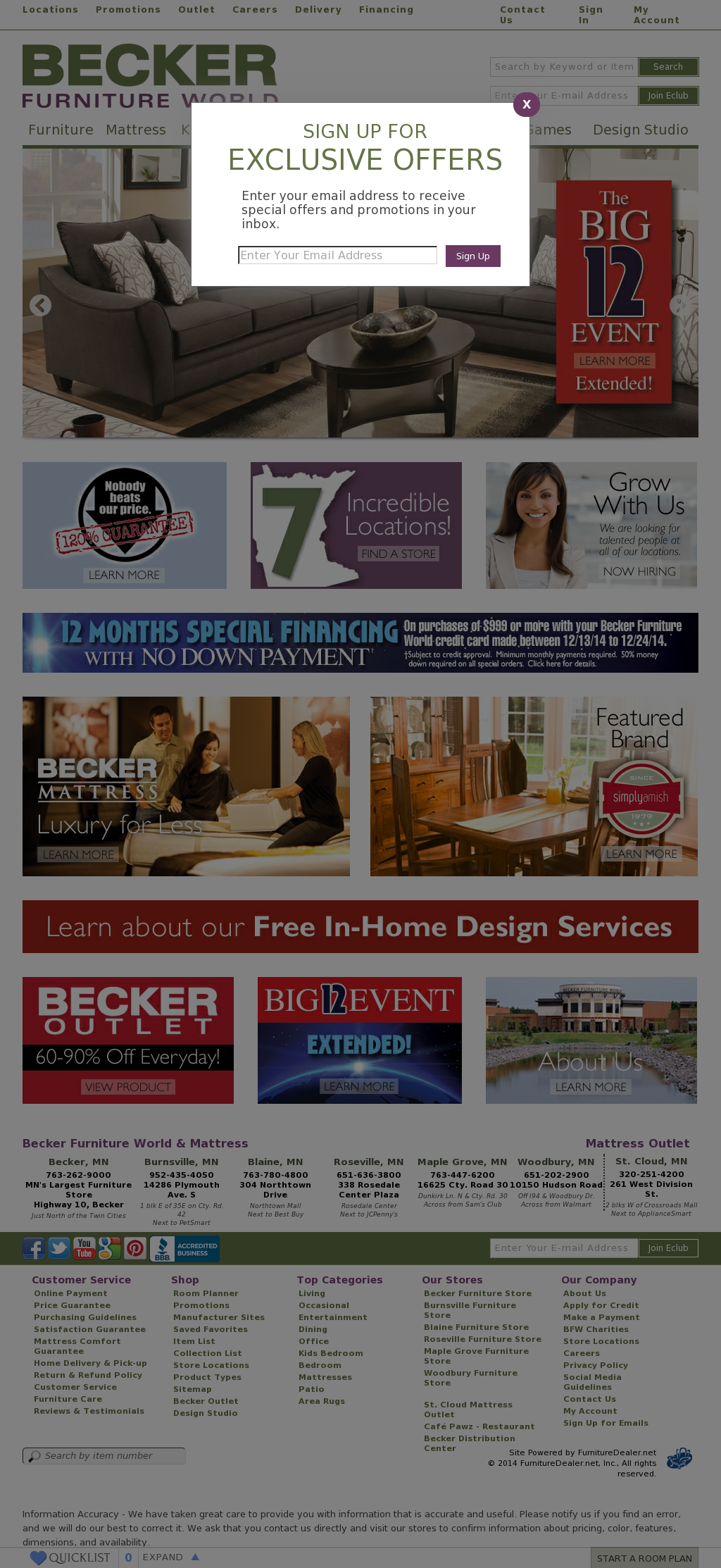 Becker Furniture World Competitors, Revenue And Employees   Owler Company  Profile