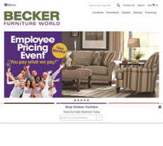 Becker Furniture World Competitors Revenue And Employees Owler