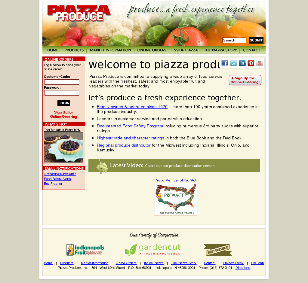 Piazzaproduce Competitors, Revenue and Employees - Owler