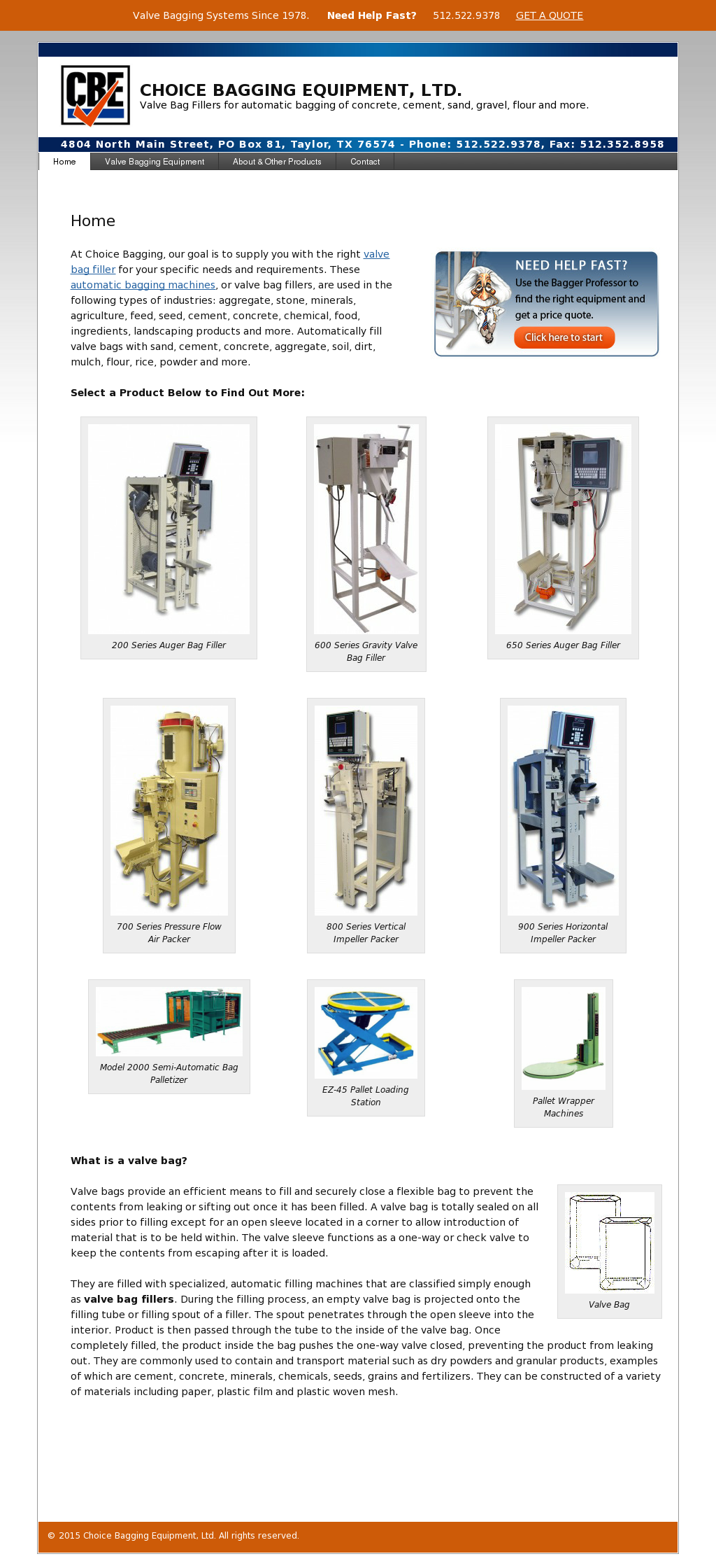 Choice Bagging Equipment Compeors Revenue And Employees Owler Company Profile