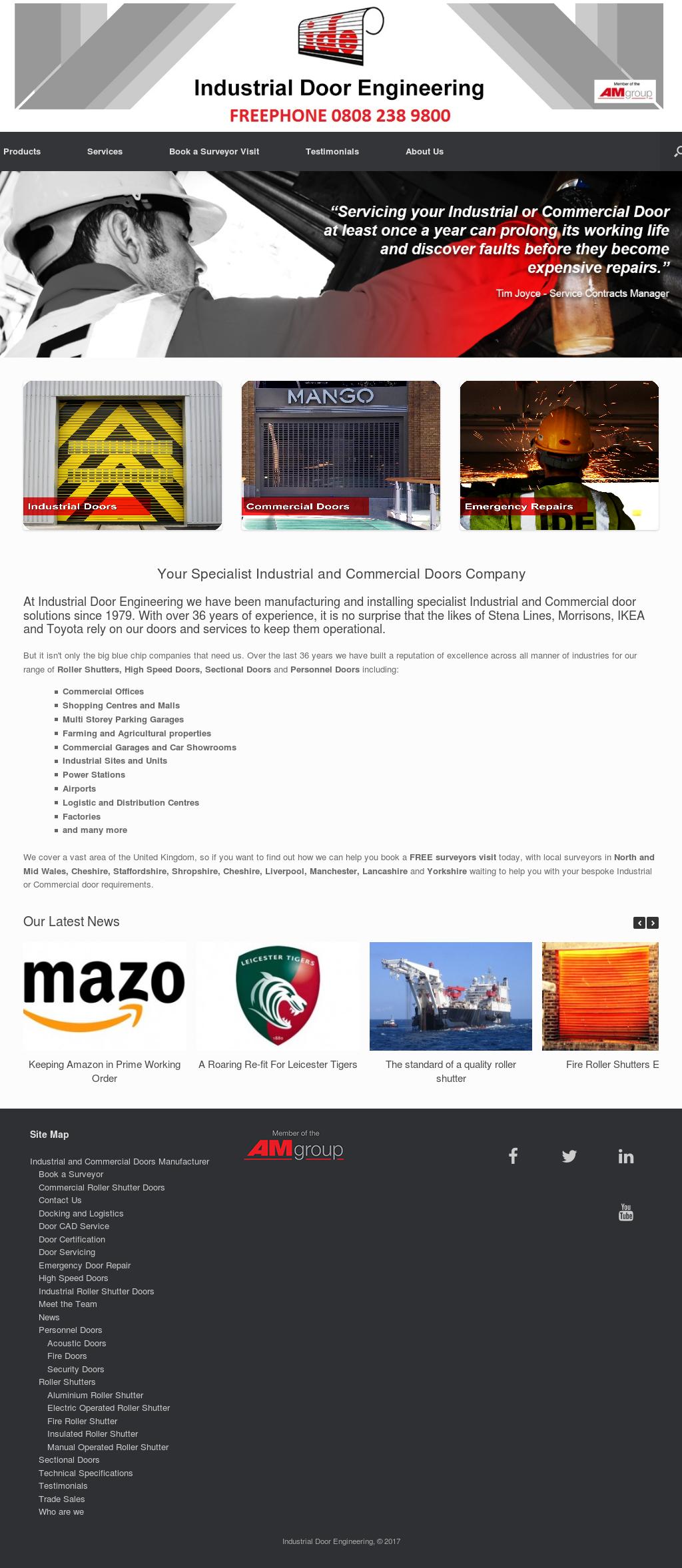 Industrial Door Engineering website history  sc 1 st  Owler & Industrial Door Engineering Competitors Revenue and Employees ...