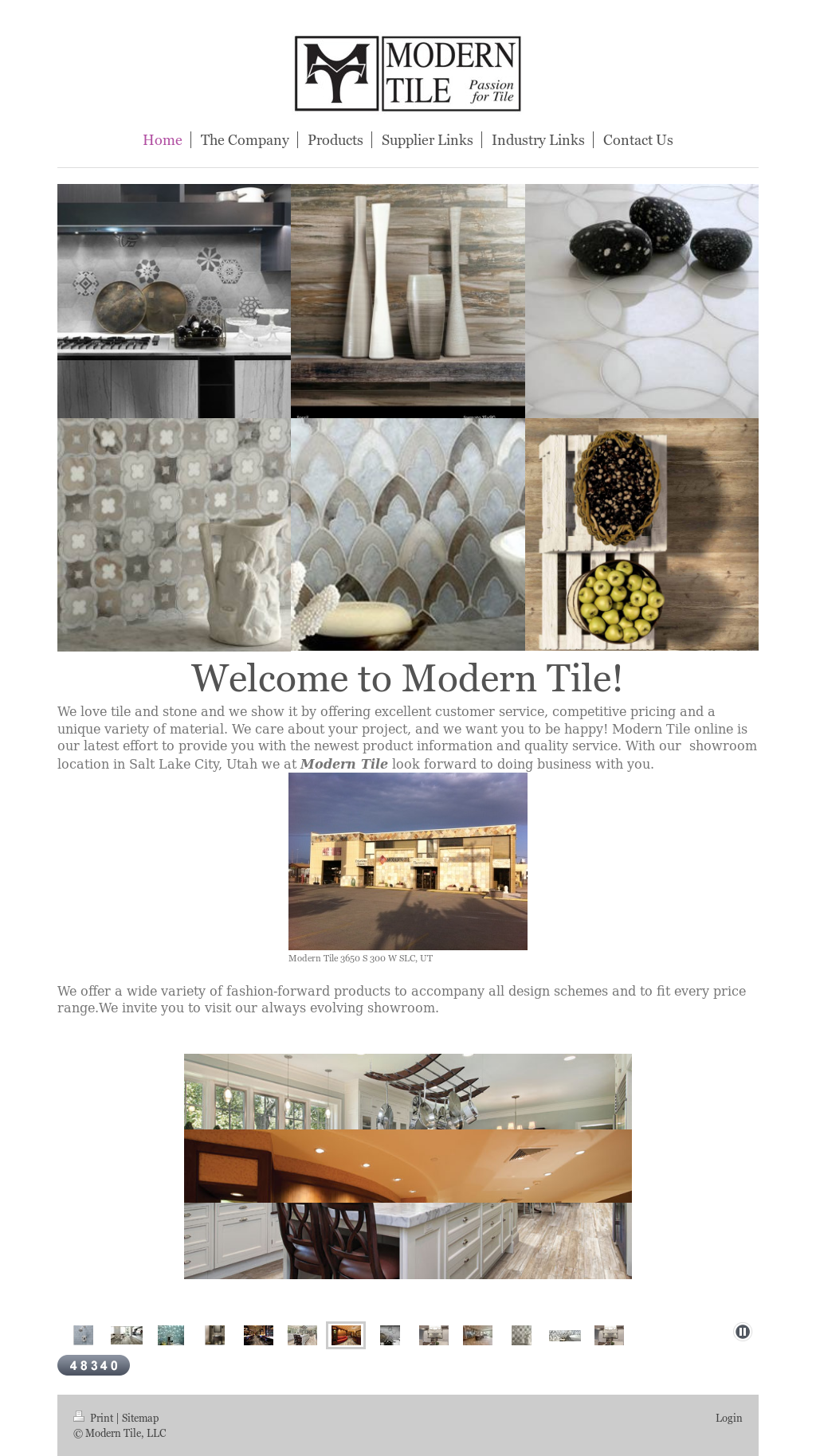 Modern Tile Compeors Revenue And