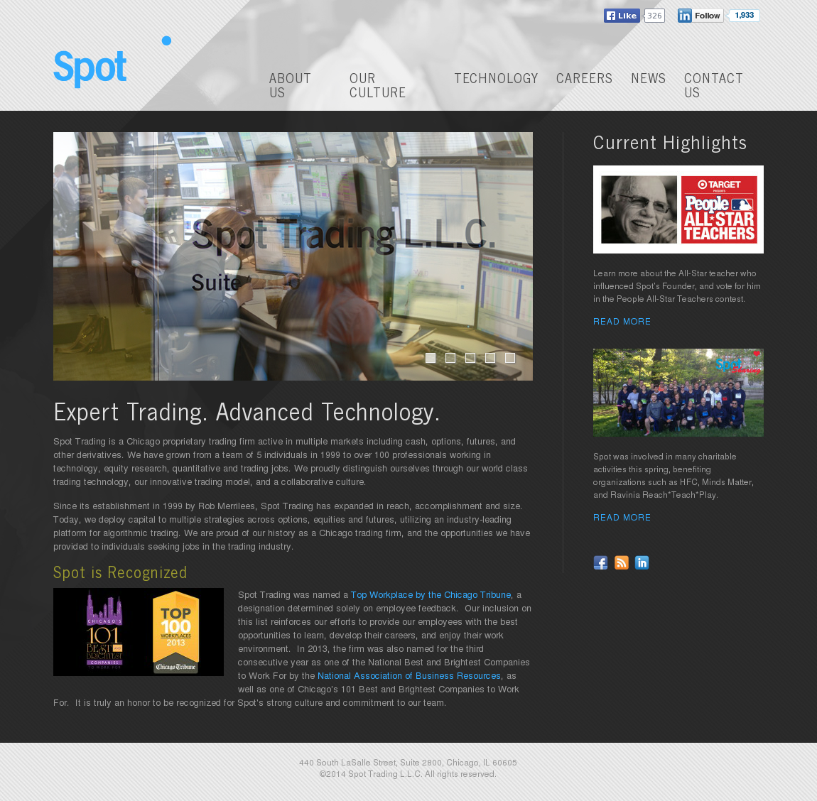 Spot trading co