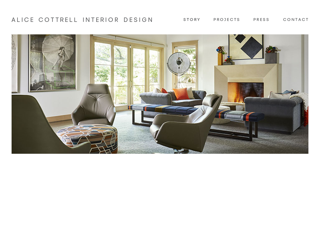 See screenshot see more website history owler has collected 12 screenshots of alice cottrell interior designs