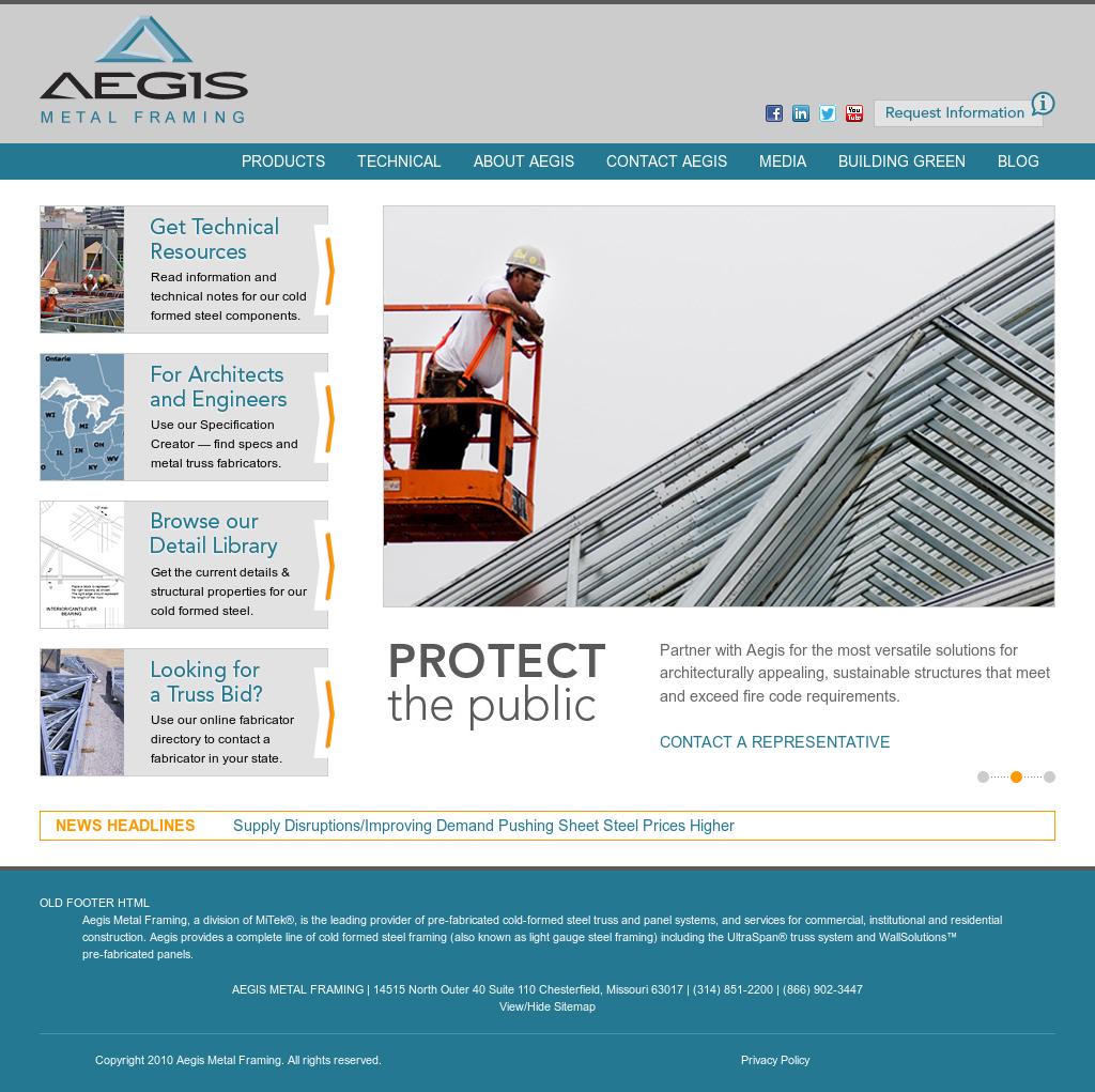 Aegismetalframing Competitors, Revenue and Employees - Owler Company ...