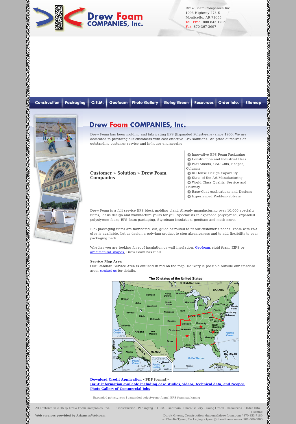 Drew Foam Competitors, Revenue and Employees - Owler Company