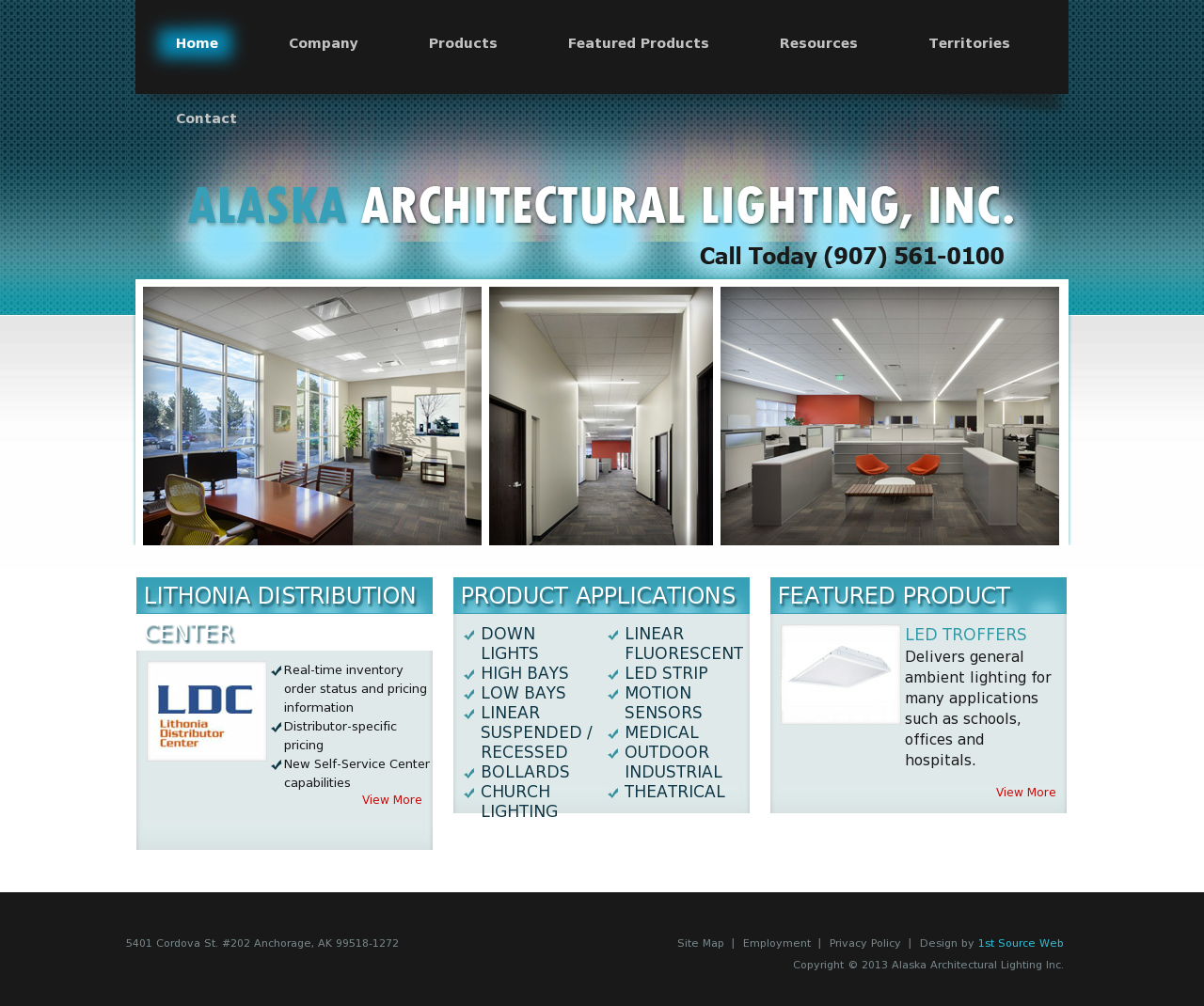 Alaska Architectural Lighting Compeors Revenue And