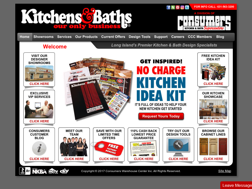 Consumers Kitchens & Baths Competitors, Revenue and Employees ...