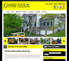 Garden State Gutter Cleaning Website History. Enlarge. Screengrabs Of How  The Garden State Gutter Cleaning ...