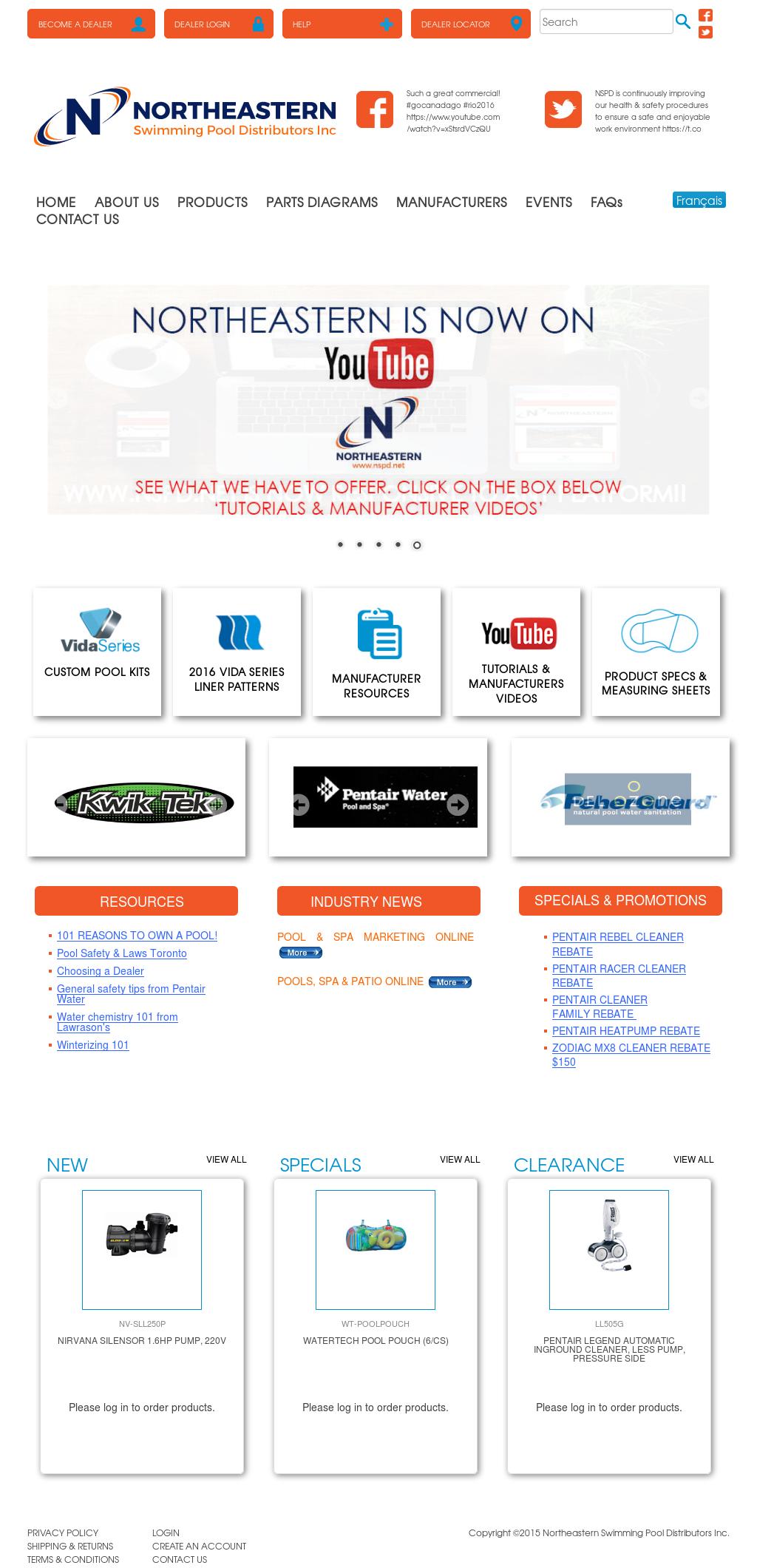 Northeastern Swimming Pool Distributors Competitors, Revenue ...