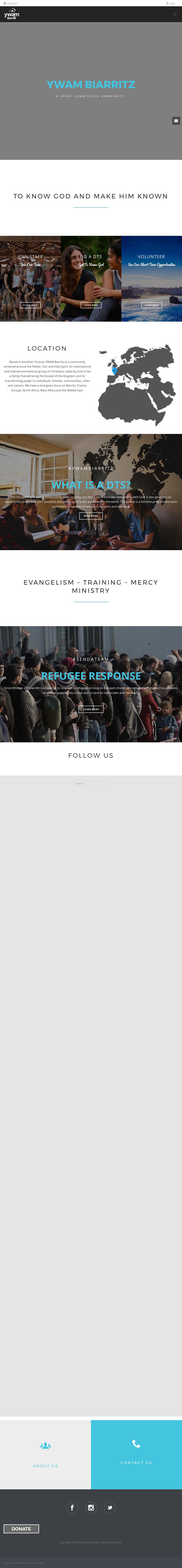 Ywam Biarritz// Jem Biarritz Competitors, Revenue and