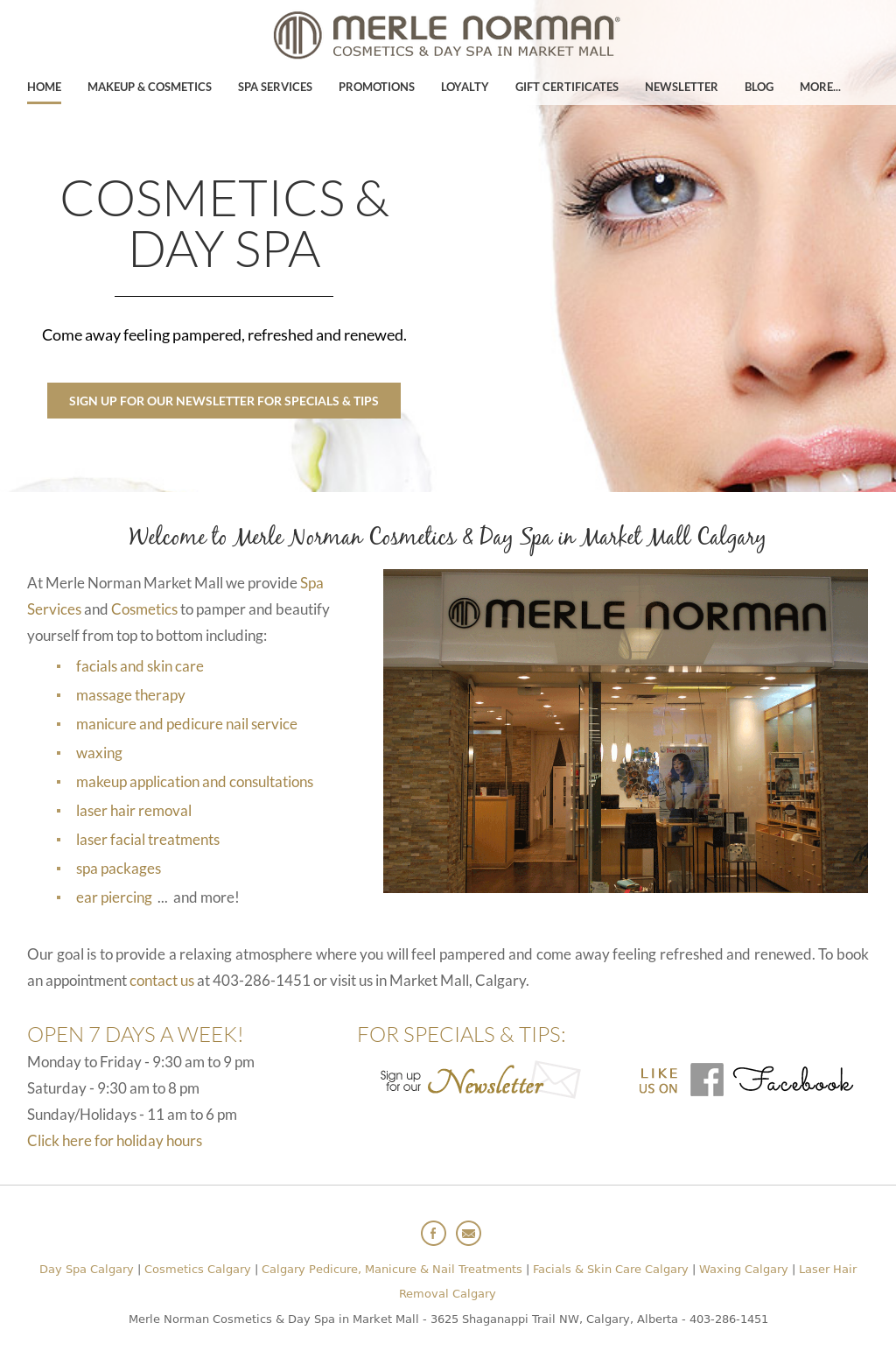 c546bb78c30 Merle Norman Cosmetics & Spa Market Mall Competitors, Revenue and Employees  - Owler Company Profile