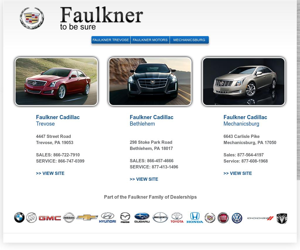 FAULKNER CADILLAC, TREVOSE Competitors, Revenue and Employees - Owler Company Profile